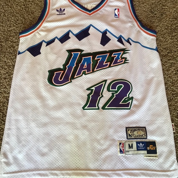 buy popular 64546 40dc4 Hardwood Classic John Stockton Utah Jazz Jersey